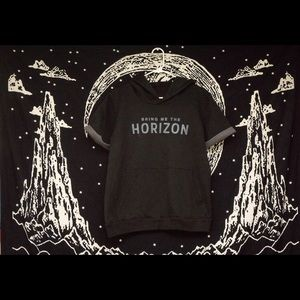 Other - Bring Me The Horizon short sleeved hoodie